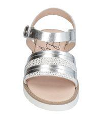 Liu Jo - Metallic Sandals - Lyst