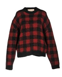 Marni - Red Sweaters - Lyst