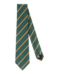 Mp Massimo Piombo - Green Ties for Men - Lyst