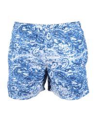 North Sails - Blue Swim Trunks for Men - Lyst