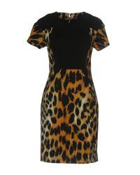 Rachel Roy - Black Short Dress - Lyst