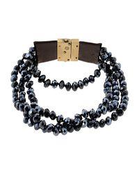 INTROPIA - Blue Bracelet - Lyst