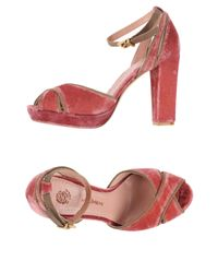 Maliparmi | Red Sandals | Lyst