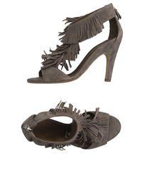 Vic Matié | Gray Sandals | Lyst