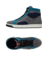 Prada Sport - Blue High-tops & Trainers - Lyst