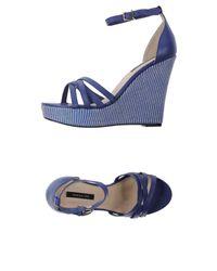 Patrizia Pepe - Blue Sandals - Lyst