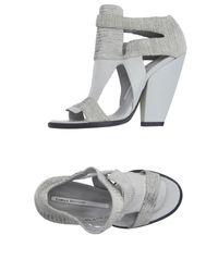Camilla Skovgaard | White Sandals | Lyst
