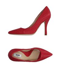 Moschino Couture | Red Court | Lyst