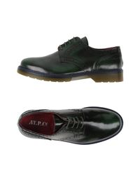 AT.P.CO | Black Lace-up Shoes for Men | Lyst