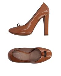 Chloé - Brown Pump - Lyst