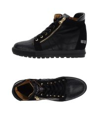 D'Acquasparta - Black High-tops & Trainers for Men - Lyst