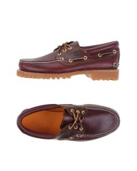Timberland - Multicolor Authentics 3-eye Premium Leather Shoes for Men - Lyst