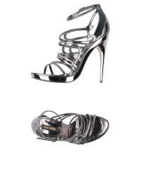 Roberto Cavalli | Multicolor Sandals | Lyst