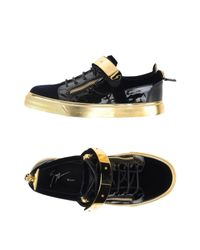 Giuseppe Zanotti - Blue Low-tops & Trainers for Men - Lyst