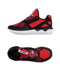 Adidas Originals - Red Low-tops & Sneakers for Men - Lyst