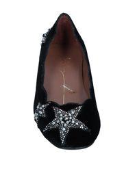 Lola Cruz - Black Ballet Flats - Lyst