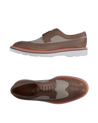 Paul by Paul Smith - Brown Lace-up Shoes - Lyst