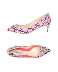 Brian Atwood   Pink Pump   Lyst