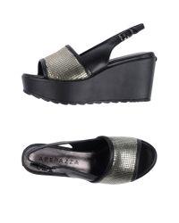Apepazza | Black Sandals | Lyst