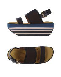 Marni | Brown Sandals | Lyst