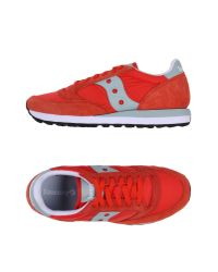 Saucony | Red Jazz Suede & Nylon Sneakers for Men | Lyst
