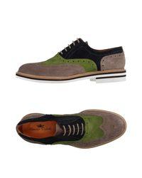 Domenico Tagliente - Gray Lace-up Shoe for Men - Lyst