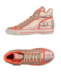 Ash | Pink High-tops & Sneakers | Lyst