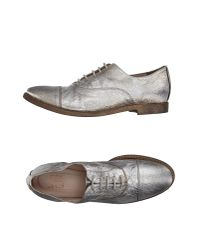 Strategia | Metallic Lace-up Shoe | Lyst