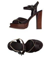 Twin Set | Brown Sandals | Lyst