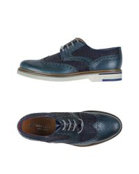 Brimarts | Blue Lace-up Shoe for Men | Lyst