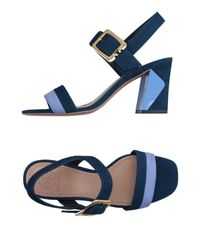 Tory Burch   Blue Sandals   Lyst