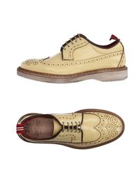 Green George - Yellow Lace-up Shoe - Lyst