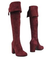 Lemarè - Red Boots - Lyst