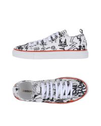 DSquared² | White Low-tops & Sneakers for Men | Lyst