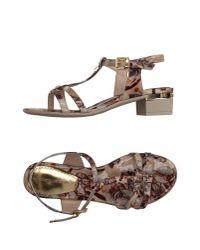 Loretta Pettinari - Natural Sandals - Lyst
