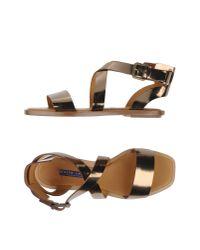 Ralph Lauren Collection   Multicolor Sandals   Lyst