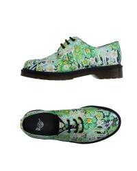 Dr. Martens   Green Lace-up Shoe for Men   Lyst