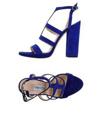 Giampaolo Viozzi - Blue Sandals - Lyst