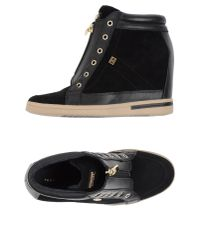 Tommy Hilfiger | Black High-tops & Sneakers | Lyst