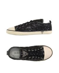 Guess - Black Low-tops & Sneakers - Lyst