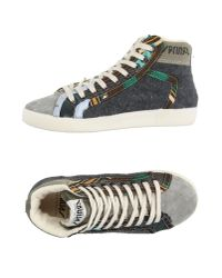 Springa | Gray High-tops & Sneakers | Lyst