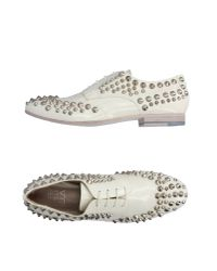 Strategia   White Lace-up Shoe   Lyst