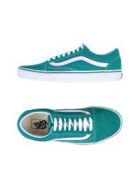 Vans - Green Low-tops & Sneakers - Lyst