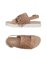 Liu Jo - Natural Sandals - Lyst