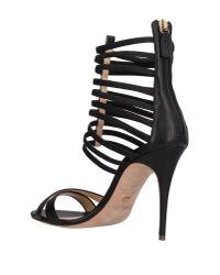Jerome C. Rousseau - Black Sandals - Lyst