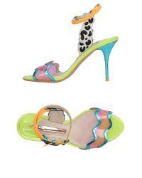 Sophia Webster | Blue Sandals | Lyst