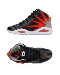 Reebok - Black High-tops & Sneakers for Men - Lyst