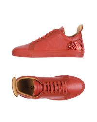 Ylati - Red Low-tops & Sneakers - Lyst