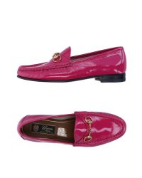 Gucci - Purple Loafer - Lyst