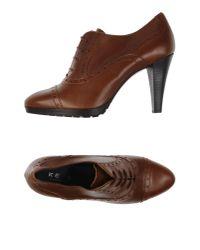 Keys - Brown Lace-up Shoe - Lyst